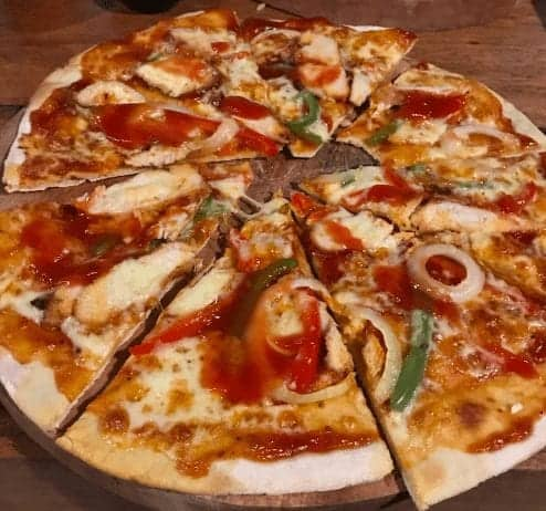 Chicken BBQ Pizza
